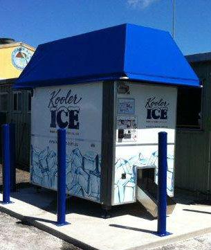 kooler vending machine cost